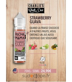 Strawberry Gawa Jackfruit - 50ml ZHC - PACHAMAMA by Charlie's Chalk Dust -
