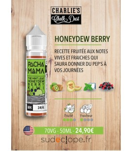 Mint Honeydew Berry Kiwi - 50ml ZHC - PACHAMAMA by Charlie's Chalk Dust -