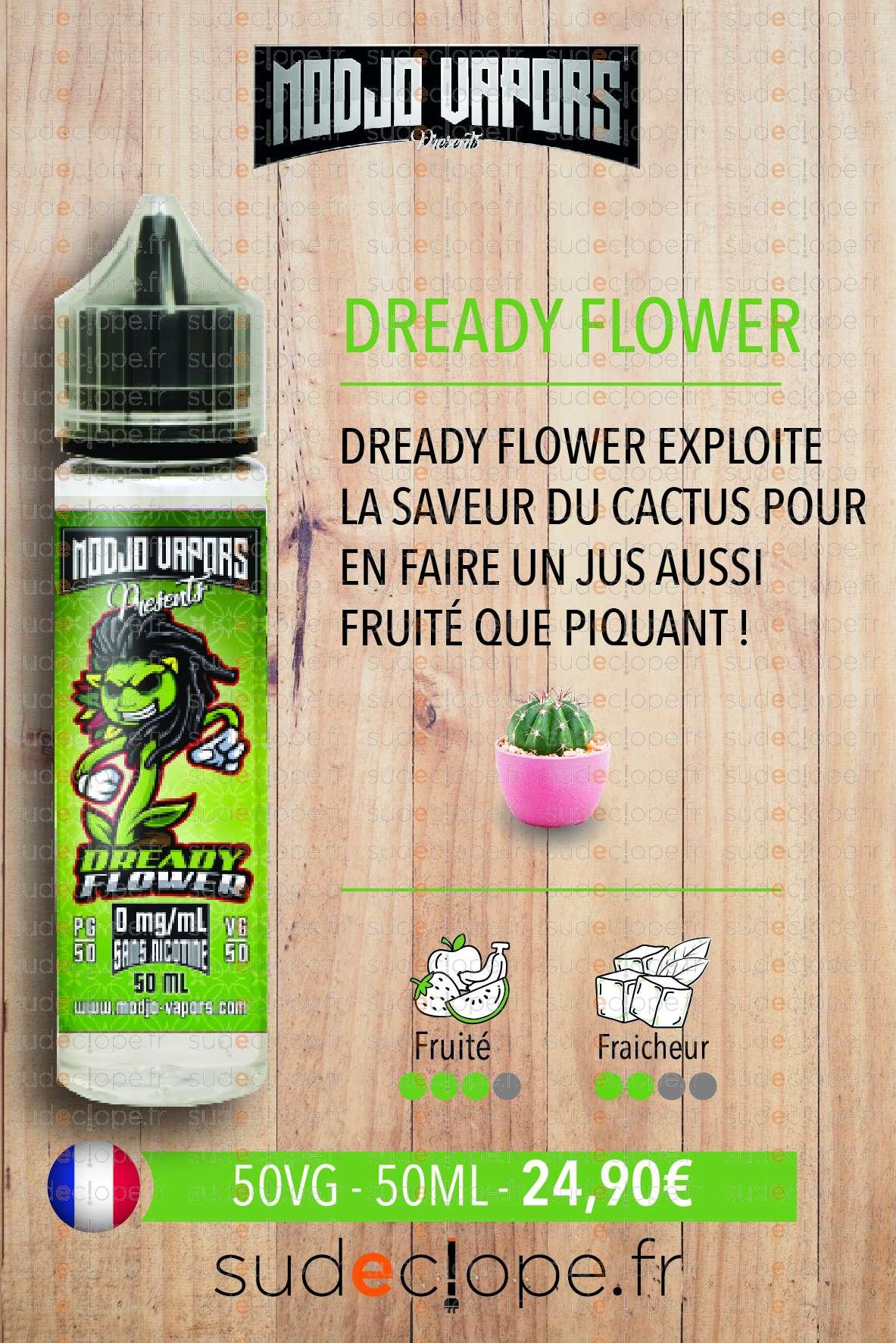 Modjo - Dready Flower ZHC 50ml