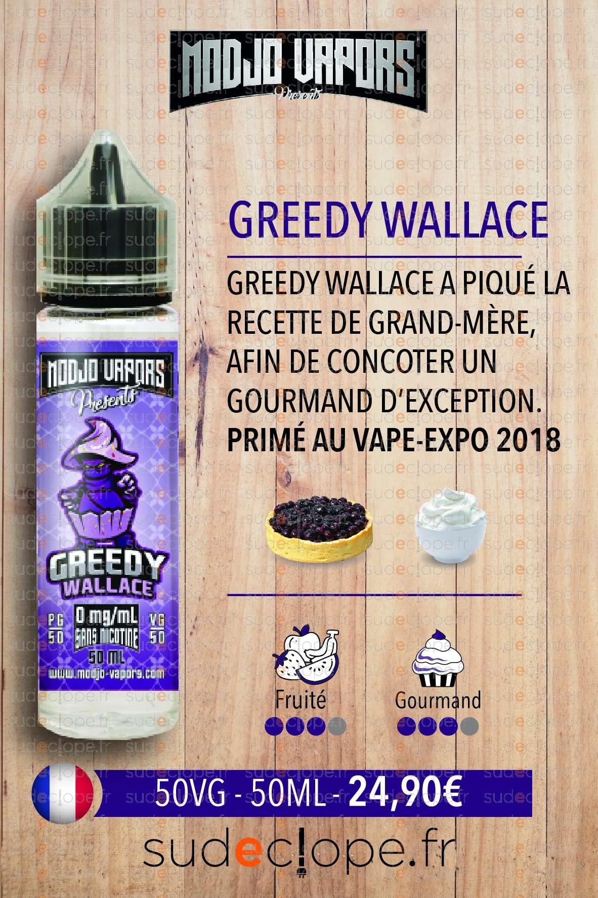 Modjo - Greedy Wallace ZHC 50ml