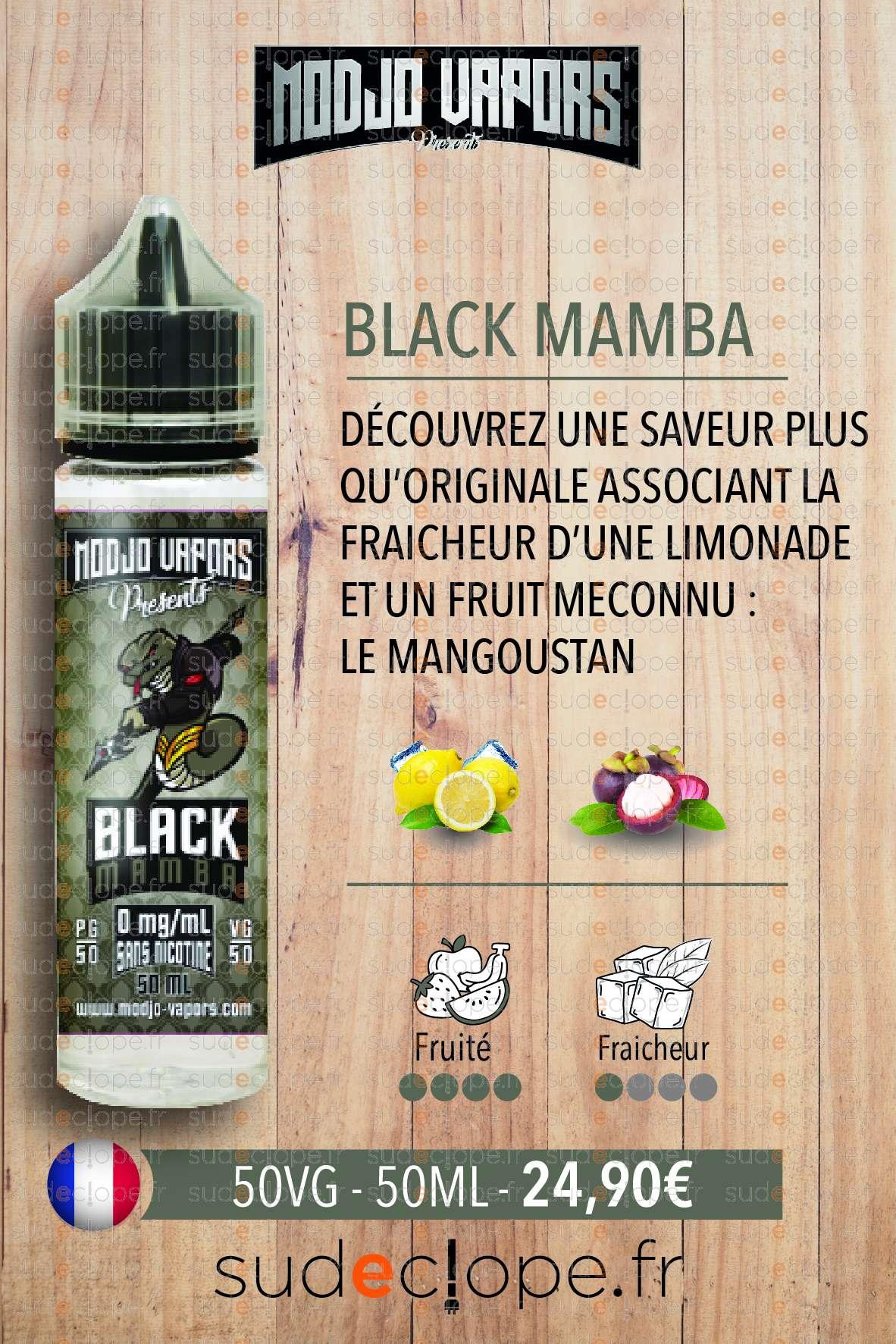 Modjo - Black Mamba ZHC 50ml