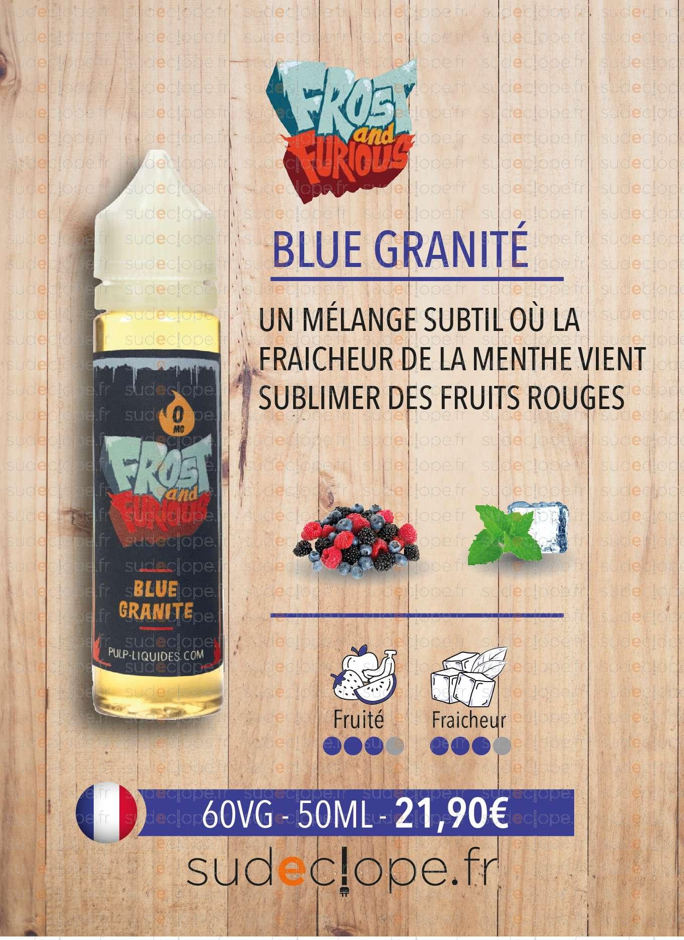blue granité