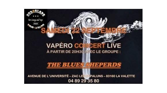 Vapéro Concert - Samedi 22 septembre 2018